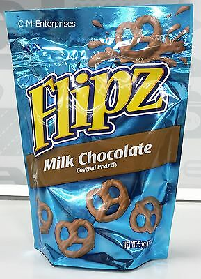 Nestle Flipz Milk Chocolate Covered Pretzels 5 oz