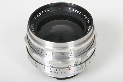 Meyer Optik Primagon 35mm f4.5 lens in Exacta Mount, Gorlitz