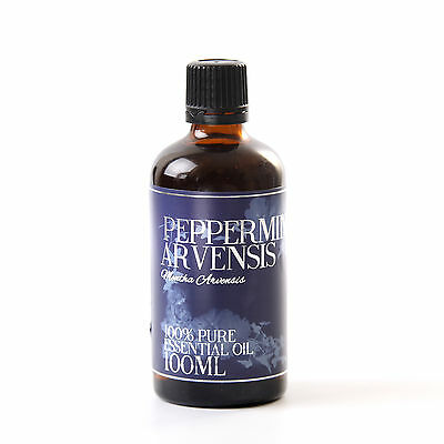 Peppermint Arvensis Essential Oil - 100% Pure - 100ml (EO100PEPPARVE)