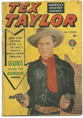 Golden Age Marvel Comic Tex Taylor # 9