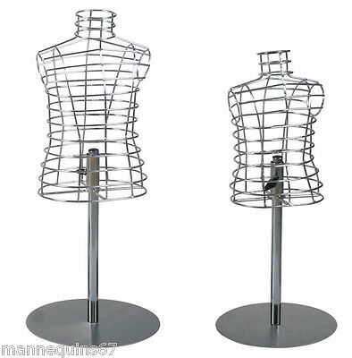 Mannequin Statue Design Enfant Chrome Vitrine Vetement