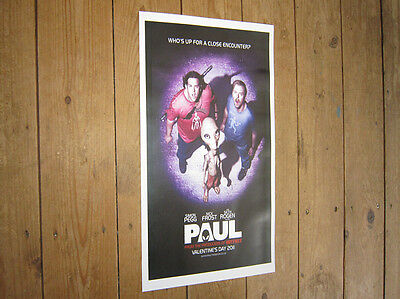 Paul The Alien Simon Pegg Repro Film POSTER