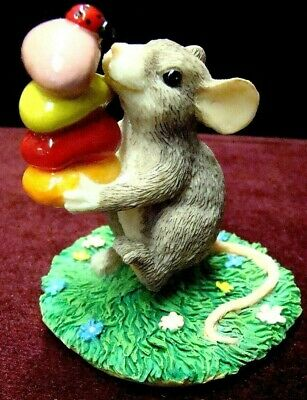 Charming Tails By Dean Griff  Silvestri Gathering Treats Figurine 87377 Cute New