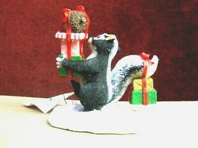 Charming Tails By Dean Griff Bearing Gifts 87600~ Cute Rare New Factory Fresh