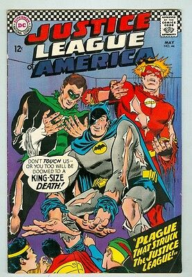Justice League of America #44 May 1966 VG