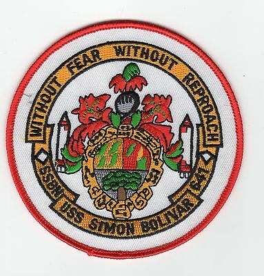 USS Simon Bolivar BC Patch Cat No c5341