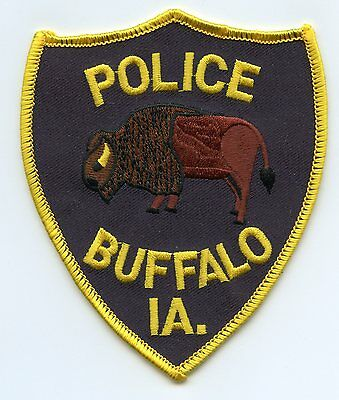 Buffalo Iowa Ia Police Patch