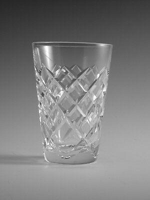 WATERFORD Crystal - TYRONE Cut - 5oz Tumbler Glass / Glasses - 3 5/8""
