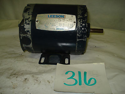 Ge general electric motor 2 hp 1725 rpm 3ph 230 460v 145t for Leeson explosion proof motor