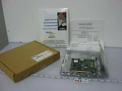 National Instruments PC-516 Data Acquisition PCI Card w/NI-DAQ Software