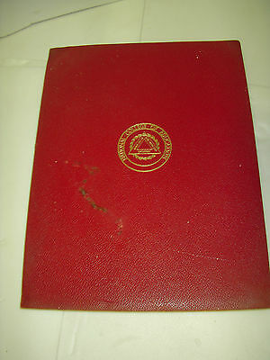 National College Of Education Bachelor Of Education Degree Diploma 1937 Evanston