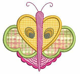 Exotic Applique Butterfly Machine Embroidery Designs CD