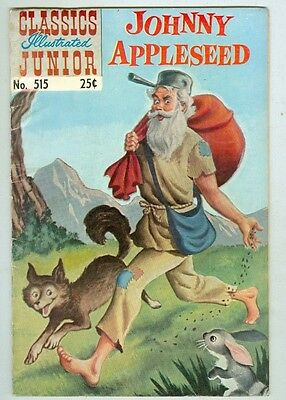 Classics Illustrated Junior #515 Spring 1969 VG/FN Johnny Appleseed