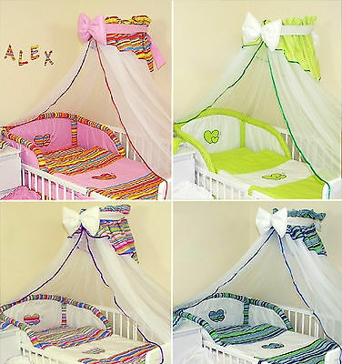 Stunning   Baby Cot / Cotbed Canopy Drape & Holder