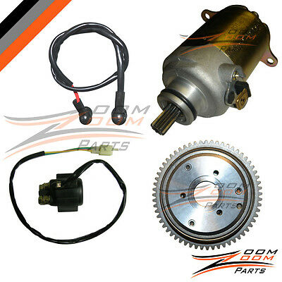 Roketa SunL Baja Tank 125cc 150cc Starter Motor Drive Clutch and Relay Moped ATV