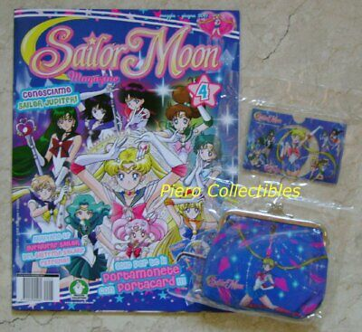 Sailor Moon Magazine 4 + Portamonete