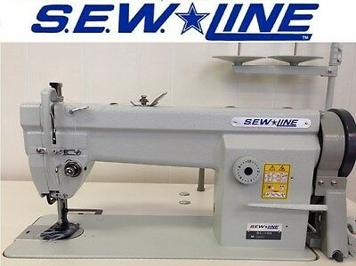 SEW LINE SL-106 NEW WALKING FOOT wSEWLINE 110V MOTOR INDUSTRIAL SEWING MACHINE