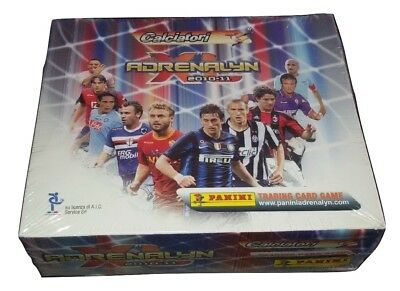 Calciatori Adrenalyn XL 2010-2011 Box 24 Bustine Cards Panini