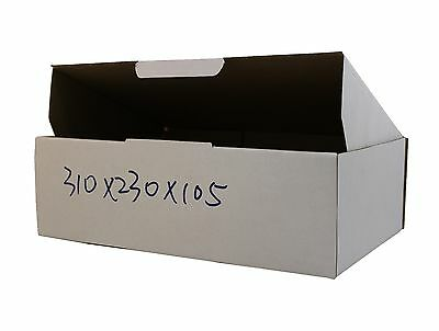 100 310x230x105mm Shipping Mailing Boxes BX2 size Cartons Corrugated Cardboard