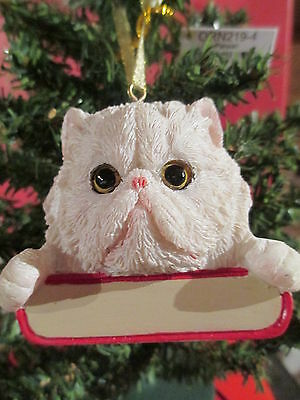 Cat ~ Persian   ~ Ornament  #4