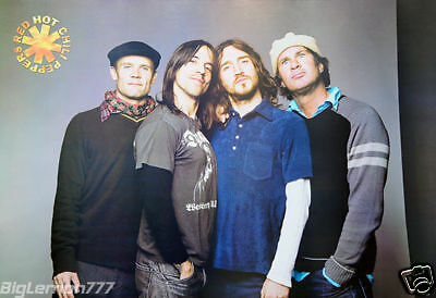 "RED HOT CHILI PEPPERS MUSIC POSTER # 2 24""x35"""