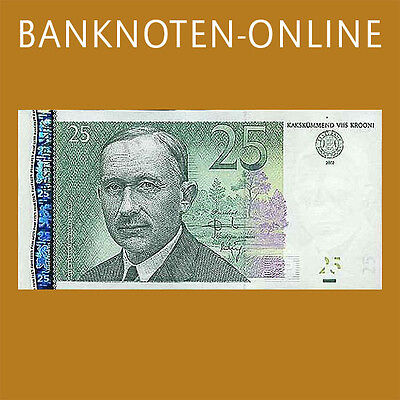Estland/Estonia  25 Kronen 2002 Pick 84