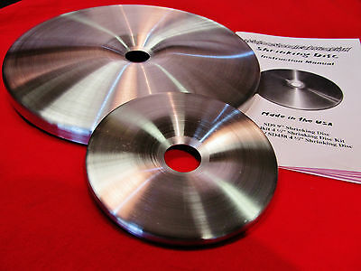 """SDCP, 4.5"""" & 9"""" Replacement Shrinking Disc Combo, BEWARE of Attempted Copies!"""