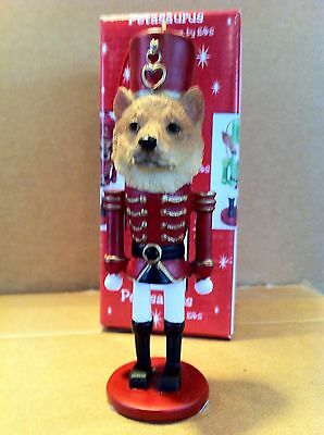 Shiba Inu  ~ Nutcracker Dog Soldier Ornament #68