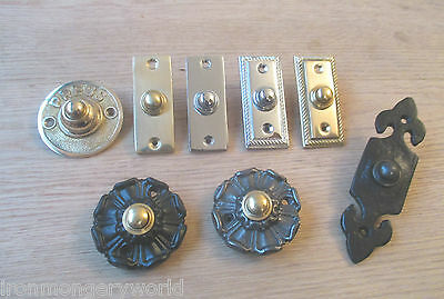 Victorian Traditional Old Style Bell Push Door Bell Wired