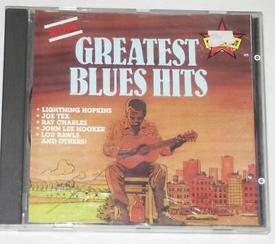 CD Album- Various Artists - More Greatest Blues Hits - 10 Tracks