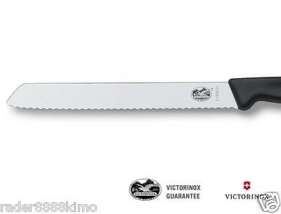 "Victorinox Swiss German Steel 5.1633.21 Bread Knife 8"" 【v5163321】"