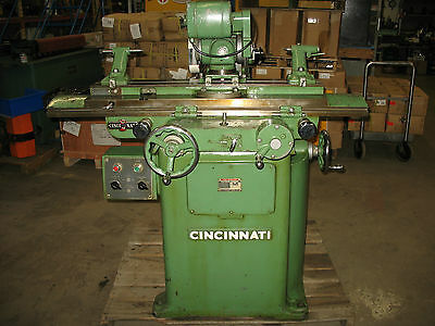Cincinnati Tool Room Grinder and Cutter #2 with attachments