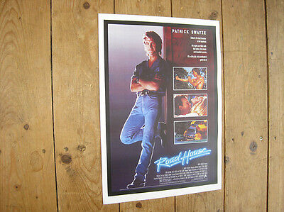 Road House Patrick Swayze Repro POSTER