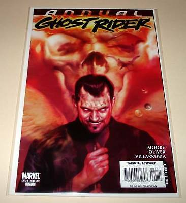 GHOST RIDER ANNUAL # 1 Marvel Comic  2008  VFN