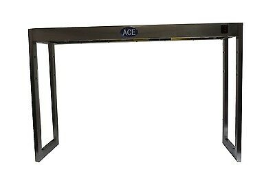 New 3' S/s 3 Lamp Table Top 1 Tier Heated Gantry Light Pass Through Ls3-1T