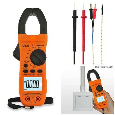 New AIMO MS2108A Digital Clamp Meter Multimeter AC DC Current Volt Tester