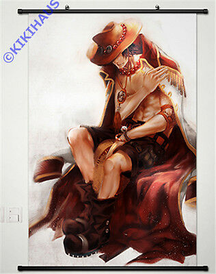 Neu Manga One Piece D ACE (in 2 Jahre) Anime Wallscroll Stoffposter 60x90cm 041