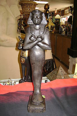 "Large King Tutankhamun Statue  Made In Egypt  ""collectibles"""