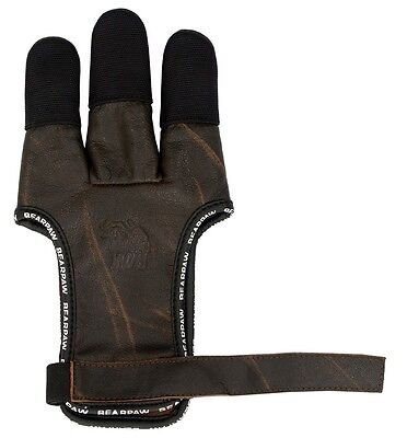 Elite Schiesshandschuh Speed Glove aus  Büffellleder shooting glove
