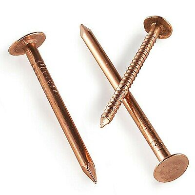 COPPER CLOUT NAILS / TREE STUMP KILLERS 25mm 30mm 40mm 50mm