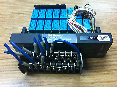 GE Fanuc IC610MDL182A Relay Output Module (16 Circuits)