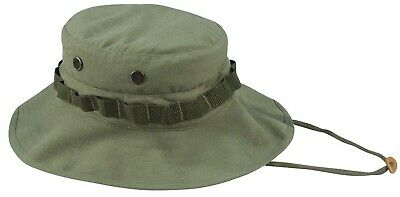 Military Hat Boonie Vintage Look Vietnam War Style Jungle Sun Hat Rothco 5910