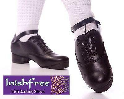 New Irish Dancing Jig Shoes All Sizes Instock Flexi Sole Trebles Hard Inishfree