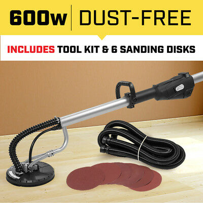 COMMERCIAL DUST FREE DRYWALL SANDER for PLASTER PLASTERBOARD GYPROCK WALL etc