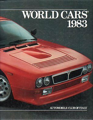 World Cars 1983 - Automobile club of Italy, Herald Books New York