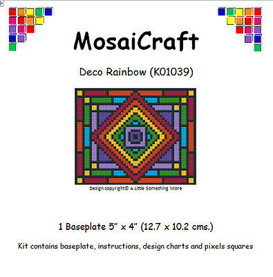 MosaiCraft Pixel Craft Mosaic Art Kit /'Three Horses/' Pixelhobby
