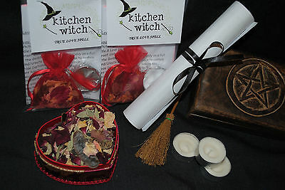 TRUE LOVE & SOUL MATE Spell Kit POWERFUL Folk Magicks Attract Relationship