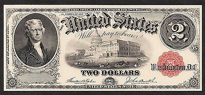Proof Print by the BEP - Face of 1917 $2 United States Note (US Note)