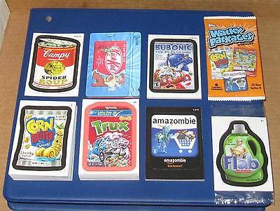 WACKY PACKAGES ANS9 COMPLETE MASTER SET IN NM/MT CONDITION