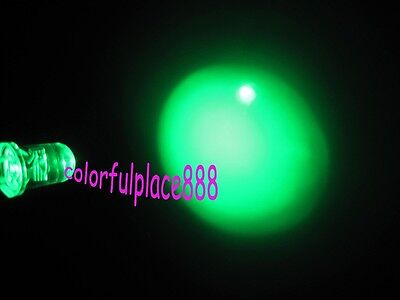 100pcs 5mm Red Round Self Flash Flashing Blink Water Clear Bright LED Leds New